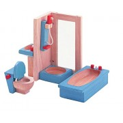 PLAN TOYS Dollhouse Furniture - Neo Bathroom