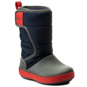 Апрески CROCS - Lodgepoint Snow Boot K 204660 Navy/Slate Grey