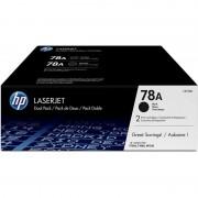 HP 78A Pack Ahorro Tóner Original Laserjet Negro