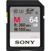 Sony SF-M Series 64 GB SDXC UHS Class 3 260 MB/s Memory Card