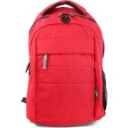 American Tourister Cyber C3L Laptop Backpack(Red)