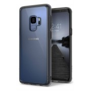 Husa Protectie Spate Ringke Fusion Smoke Black pentru Samsung Galaxy S9 Plus