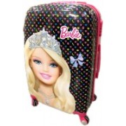Kris toy Kris Set of 2 Bags 22 inch and 18 inches Both Side Printed Polycarbonate 4 Wheel Kids Trolley Bag Expandable Check-in Luggage - 23 inch(Pink)