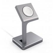 Satechi Aluminum Watch Stand (Apple Watch) - Roséguld