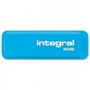 Memorie USB Integral Neon 8GB blue