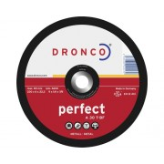 Disc debitare metale Dronco Perfect Ø125x6x22,23 mm