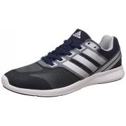 adidas Men's Adipacer Elite M Conavy and Silvmt Running Shoes - 8 UK/India (42 EU) (BI2785)