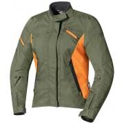 IXS Alana Chaqueta textil de las señoras Verde Naranja XS