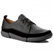 Обувки CLARKS - Trifri Lace 261272017 Black Leather