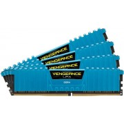 Memorii Corsair Vengeance LPX Blue DDR4, 4x8GB, 2666 MHz, CL 16
