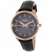 Ceas Fossil dama Tailor ES3913 gri Leather Quartz