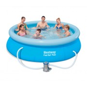 Bazén nafukovací Bestway s golierom okrúhly 274 x 76 cm