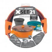 Sea To Summit X-Set: 21 3pc (X-Pot 1.4L, 1 X-Bowl, 1 X-Mug) - - Pots & Casseroles