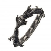 Ametallo Bracelets Exotic Mens Drago Di Fuoco 0068sb Stainless Steel 316l