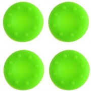TCOS TECH Silicone Key Protector Thumb Grips Anti-Slip Silicone Cap Cover for PS4 PS3 Xbox One Xbox 360 Controller - Green (4 Pcs)