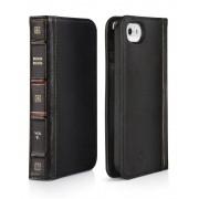Twelve South iPhone hoesje Twelve South BookBook iPhone 5/5S/SE Case Wallet Classic Black