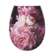 Kleine Wolke WC-Sitz 'Rosemarie' Kleine Wolke rose/weiß/bordeaux