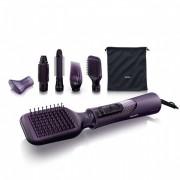 Уред за оформяне на прически с въздух Philips , 6 приставки, йонна технология, настройка за хладен въздух, 1000W