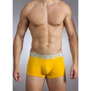 Baskit Action Cool All Mesh Low Rise Trunk Uber Yellow Underwear M3400
