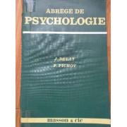 Abrege De Psychologie - J. Delay P. Pichot