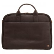Pánská cestovní kožená business taška 1642 hnědá