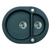 Chiuveta Alveus ROLL 80 Carbon (1218191)