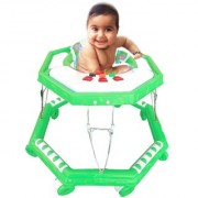 Oh Baby Baby Green color big musical walker for your kids KFA-RFC-SE-W-56