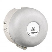 Legrand csengő, 200/250 VAC 100 mm, IP40, 102dB