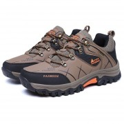 EB YT Exterior585170 Lace-up Botas De Montaña Deporte Zapatos De Hombre Para Acampar Escalada Caqui - Caqui