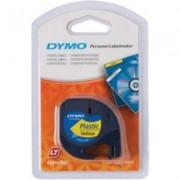 Dymo 91202 (S0721620) Tape Zwart op geel (12 mm)