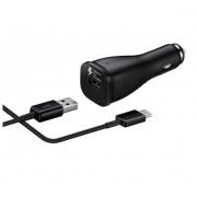 Samsung Fast Car Charger EP-LN915C - зарядно за кола с технология за бързо зареждане и с отделен USB-C кабел (ритейл опаковка) (черен)