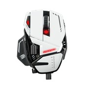 Mad Catz R.A.T. 8+ Gaming Mouse - USB 2.0 - Pixart 3389 - Black
