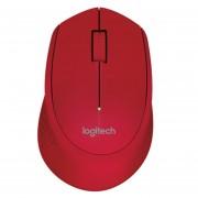 Mouse Inalámbrico Logitech M280-Rojo