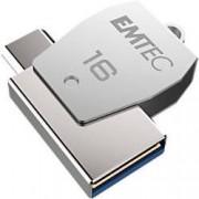 EMTEC USB 2.0 Flash Drive T250B 16 GB Silver
