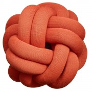 Design House Stockholm Knot kussen 30x30 Tomaat Rood
