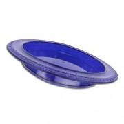 Assiette à rebord Medeci - Bleu