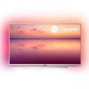 Телевизор Philips 55 инча 4K (3840 x 2160), DVB-T/T2/T2-HD/C/S/S2, 3-странен Ambilight, индекс на качеството на образа 1200, HDR 10+, 55PUS6804/12