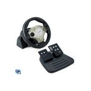 "Volan Genius ""Twin Wheel F1"", USB, PC/PS2, Vibration, D-Pad, 12 butoane, 31620029100"