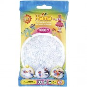 Hama Strijkkralen Doorzichtig/Transparant Wit (019)