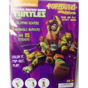 Teenage Mutant Ninja Turtles Pop Outz Grab Bag ~ Color, Pop Out, Play (Turtle Power)