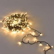 [in.tec]® Vianočná svetelná reťaz - teplá biela - 360 LED - 32 m