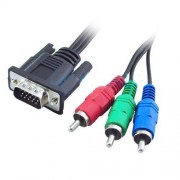 Cavo HDTV VGA a RGB component 1,8 mt