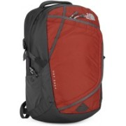 The North Face HOT SHOT 30 L Laptop Backpack(Orange, Grey)