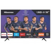 HISENSE Téléviseur LED 146 cm UHD 4K HISENSE H58AE7000F