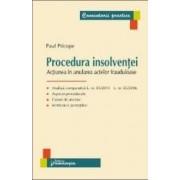 Procedura insolventei - Paul Pricope