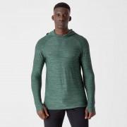 Myprotein Bluza z Kapturem Dry-Tech z Kolekcji Infinity - Zielony sosnowy - XL