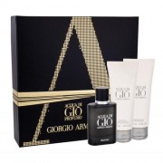 Giorgio Armani Acqua di Giò Profumo set cadou EDP 40 ml + Gel de dus Acqua di Gio 75 ml + Balsam dupa barbierit Acqua di Gio 75 ml pentru bărbați