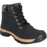1AAROW Enzo Mens Boot Black