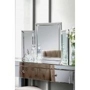 My-Furniture COLLETA , Spiegel für Frisiertisch /3-teilig klappbar.