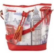 Legal Bribe Women Red Shoulder Bag